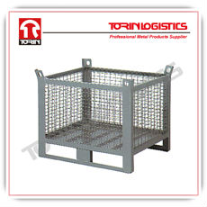 Collapsible wire mesh container (L800*W500 mm/OEM)