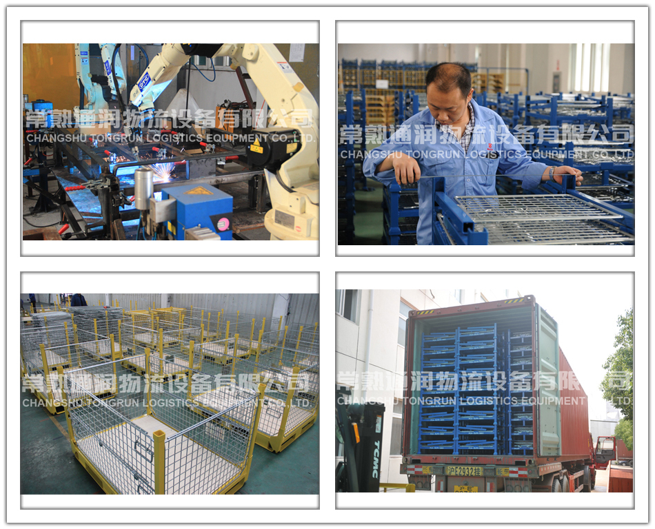 Stacking mesh container for logistics (L1000*W800 mm/OEM)