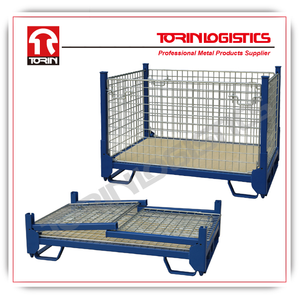 powder coated and heavy duty wire mesh containers (L1370*W905 mm/OEM)