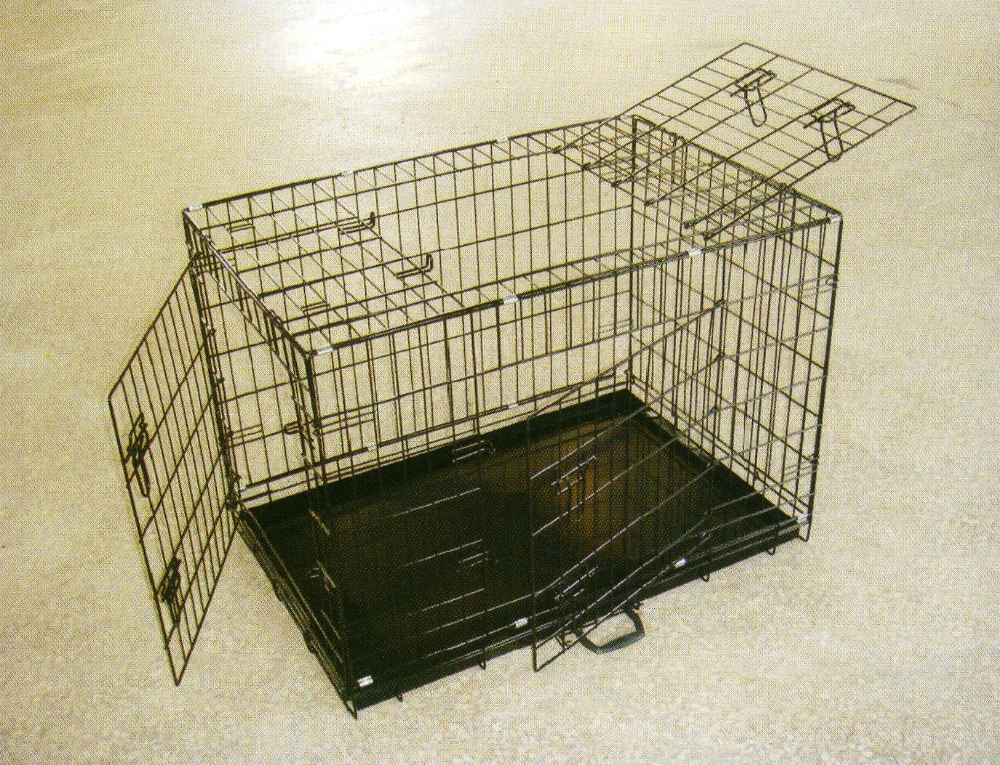 Hot Selling Economic Double Door Wire Mesh Dog Cage Pet Cage
