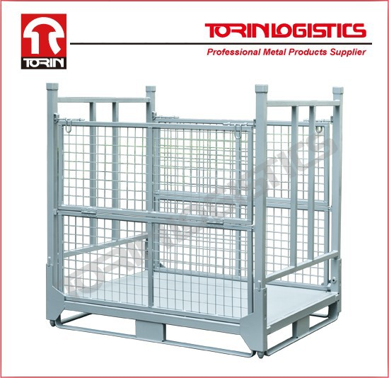 Metal wire flooring warehouse rack storage (L1400*1150mm/OEM)