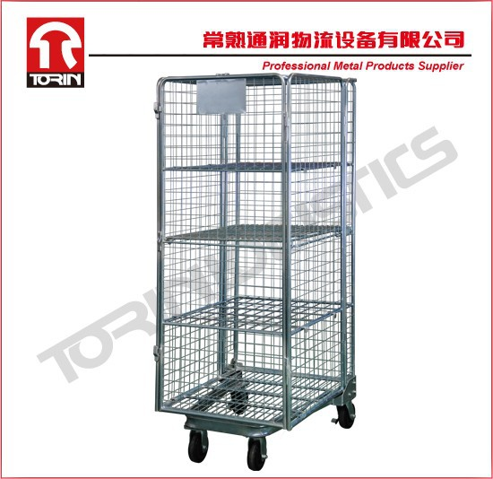 Hot sale roll container trolleys (L830 *W720 mm /OEM)